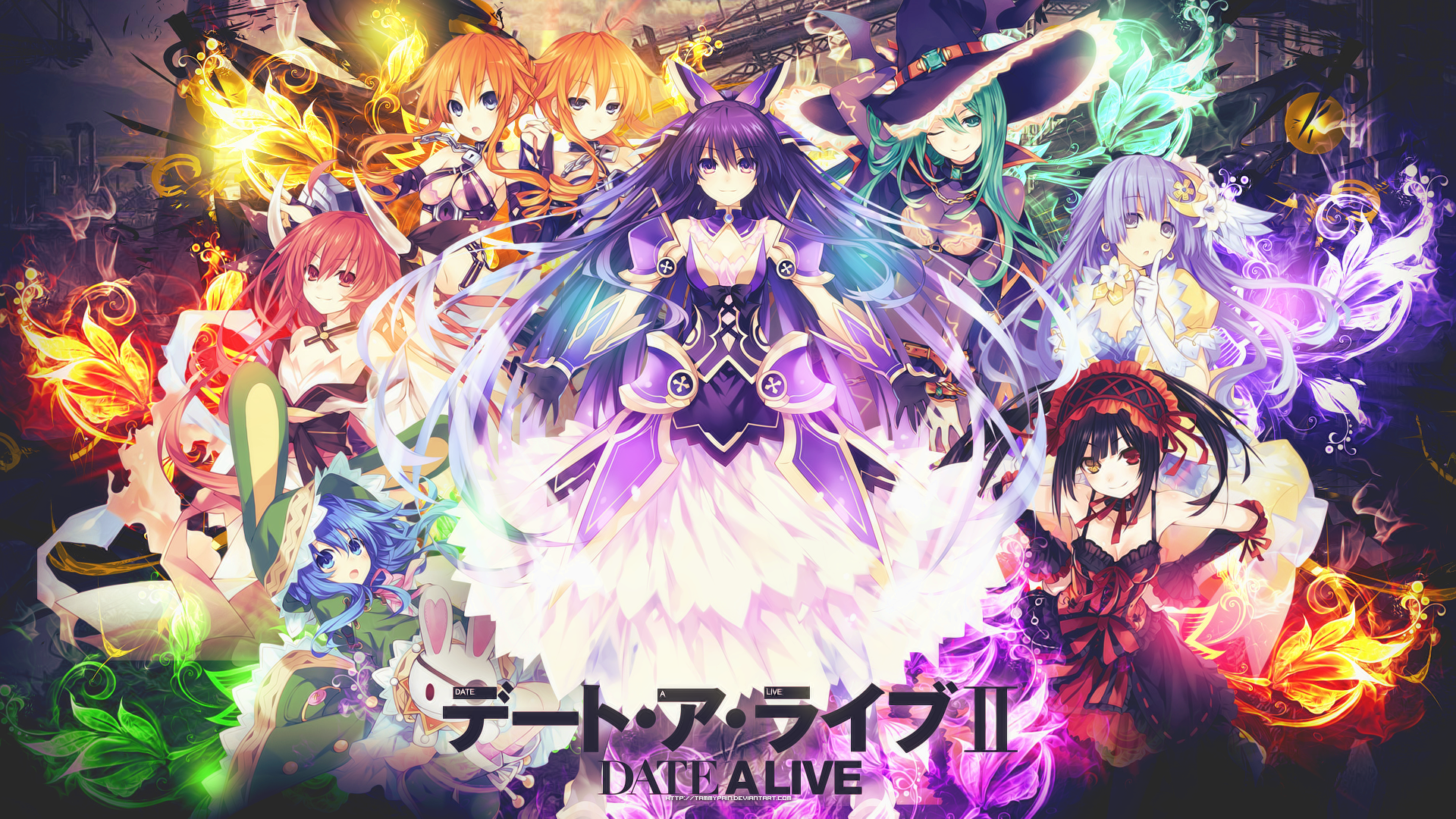 Date A Live Yoshino HD Wallpaper