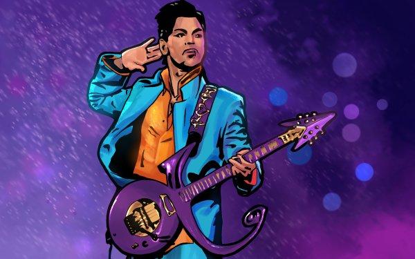 Musique Prince Chanteurs États Unis Singer American Guitare Artistique Fond d'écran HD | Image
