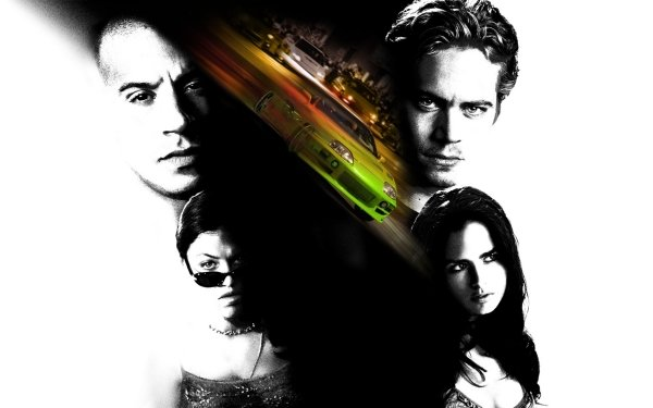 Movie The Fast And The Furious Fast & Furious Vin Diesel Paul Walker Michelle Rodriguez Jordana Brewster HD Wallpaper   Background Image