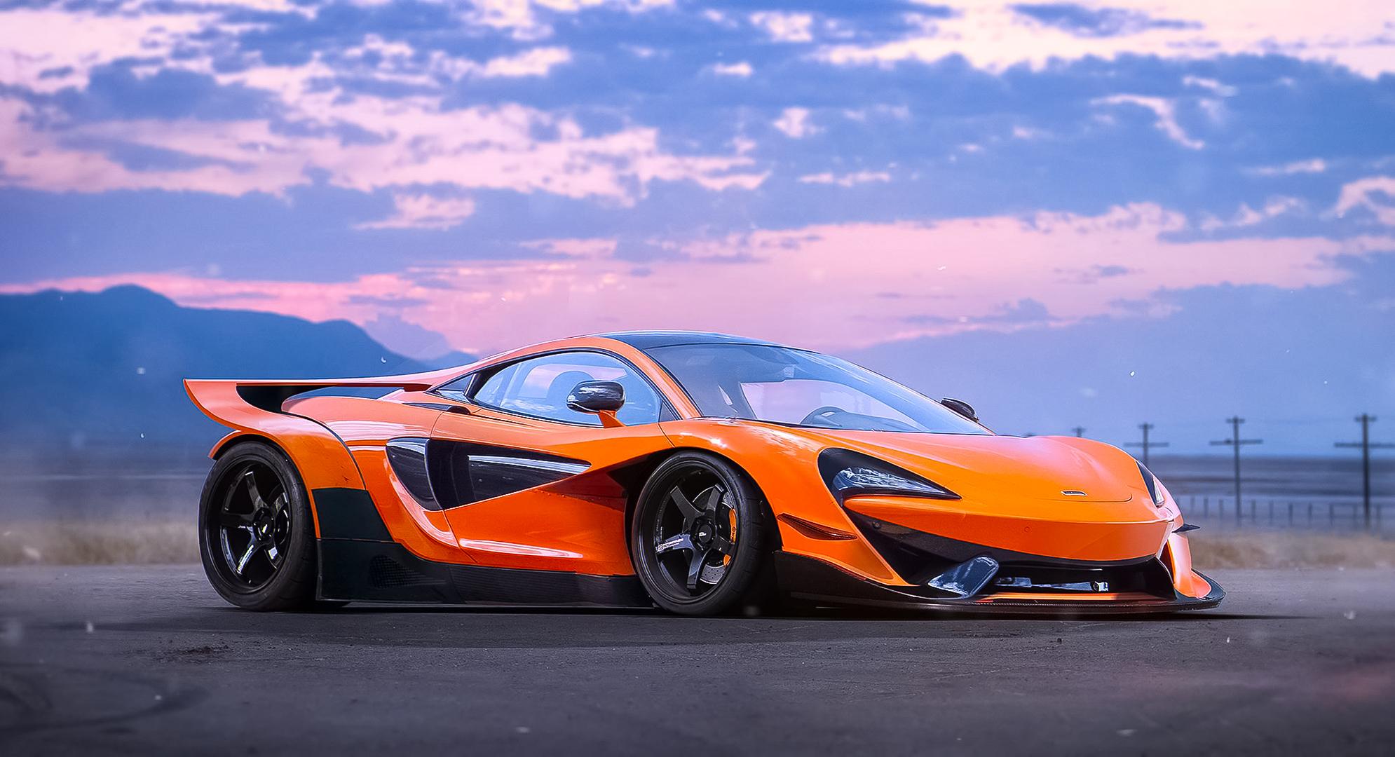 McLaren 570S HD Wallpaper