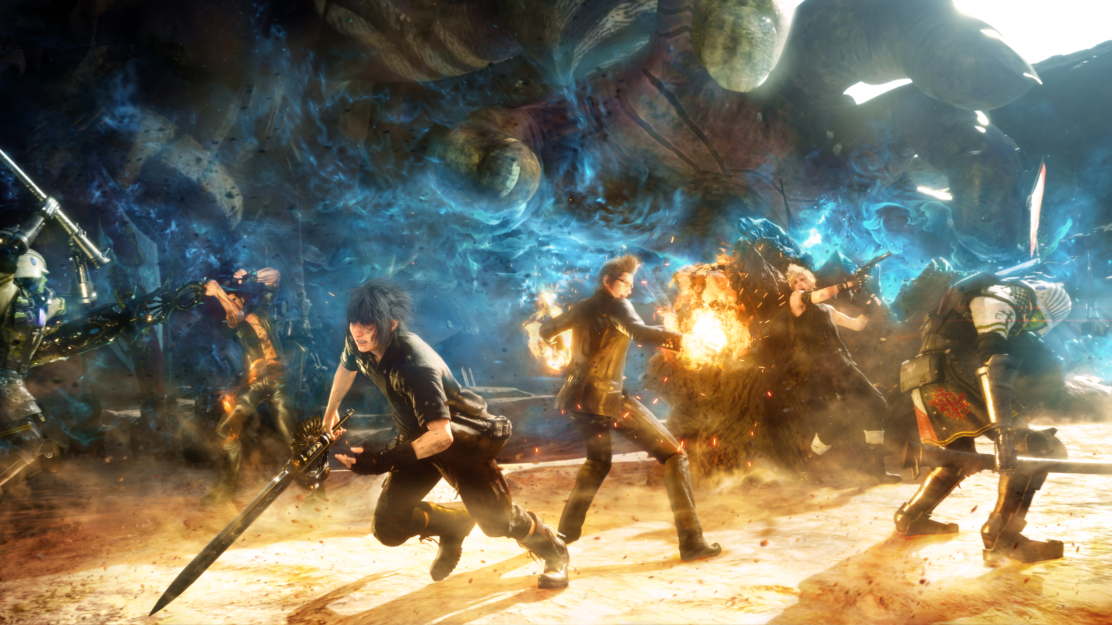 Final Fantasy Xv Final Fantasy Hd Wallpapers Desktop: Final Fantasy XV 4k Ultra HD Wallpaper