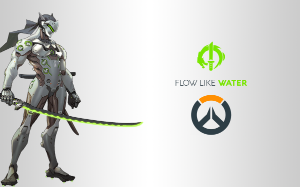 Videojuego Overwatch Blizzard Entertainment Genji Shimada Genji Fondo de pantalla HD | Fondo de Escritorio