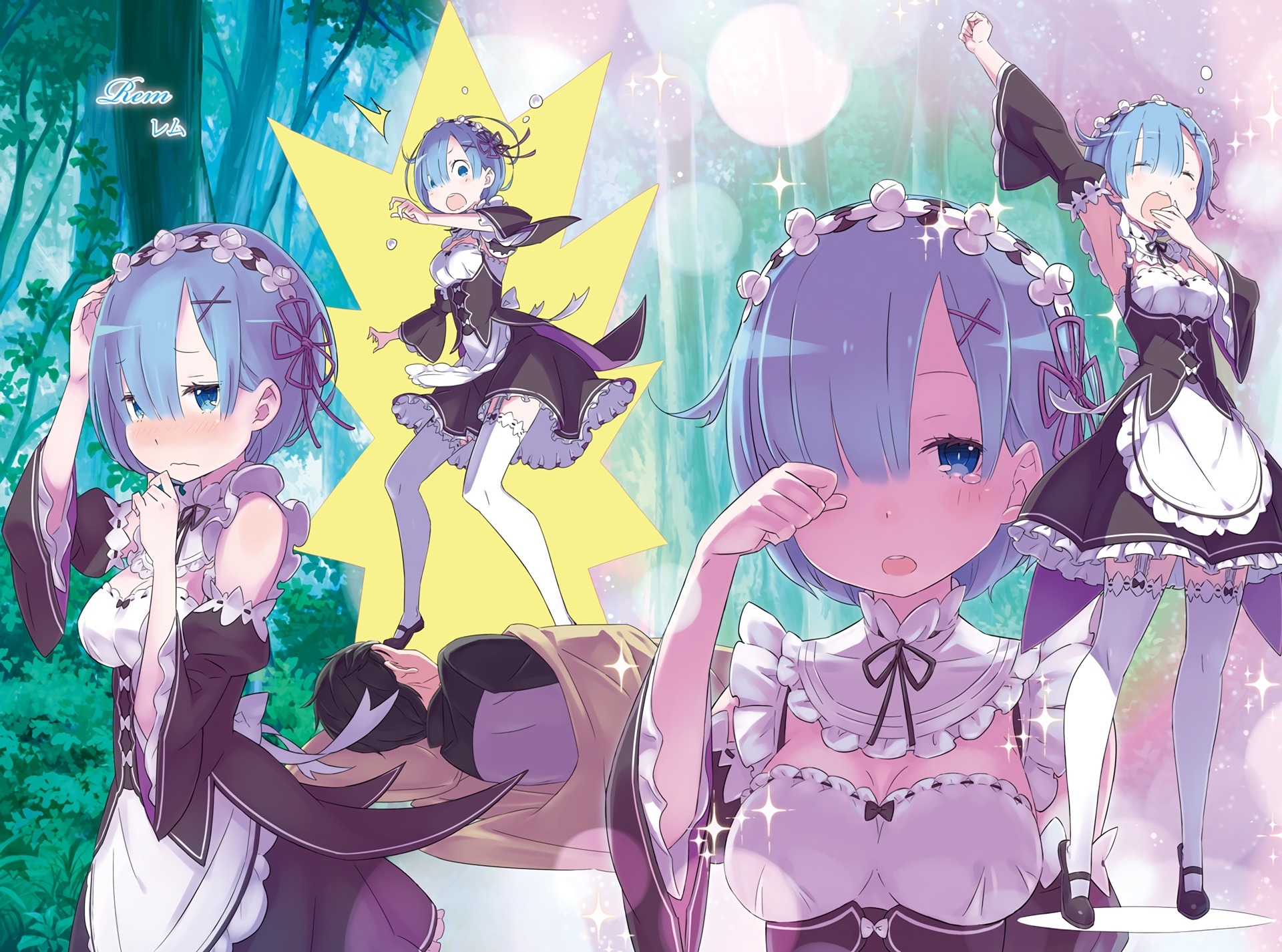 1014 Rem Rezero Hd Wallpapers Background Images Wallpaper Abyss