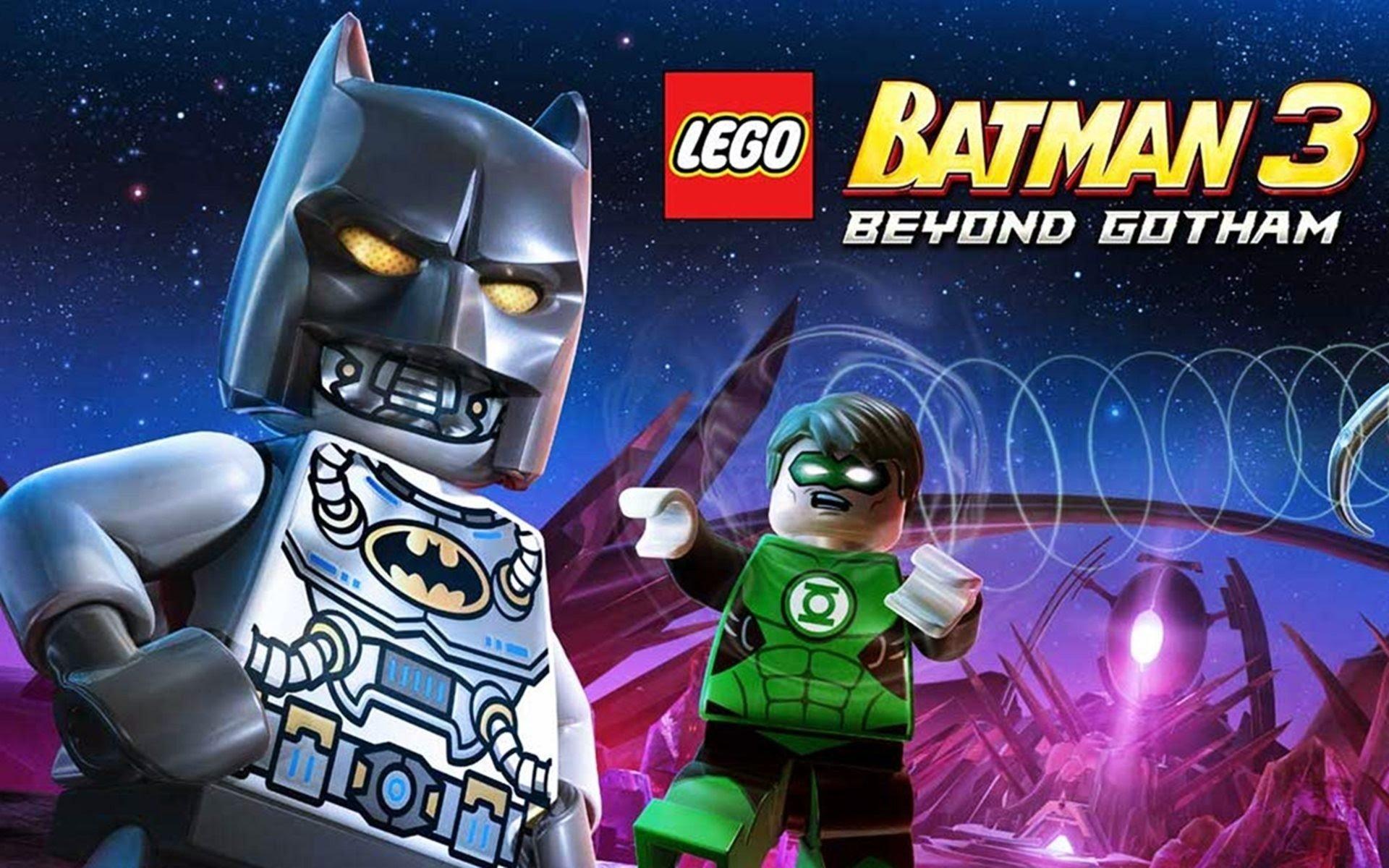 lego batman 3: beyond gotham full hd bakgrund and bakgrund