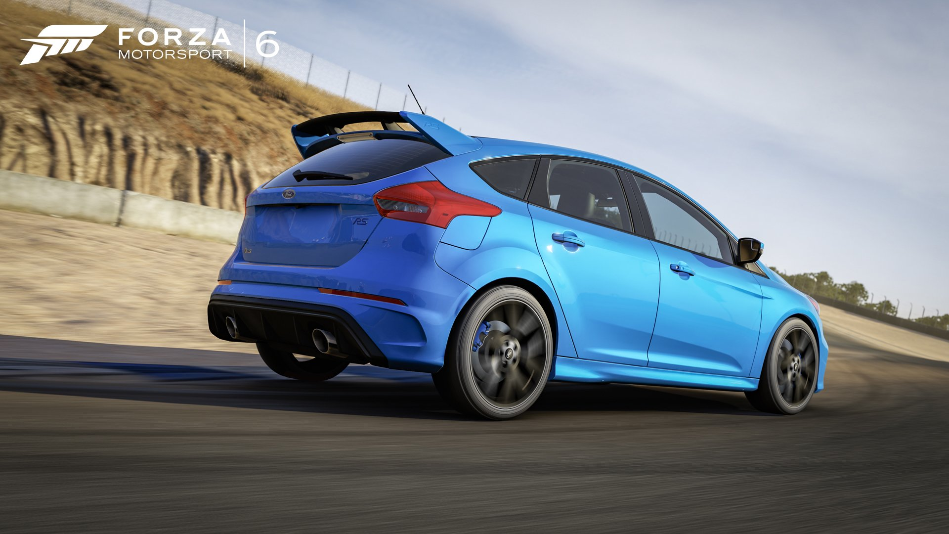 2017 Ford Focus Rs Hd Wallpaper Background Image 1920x1080
