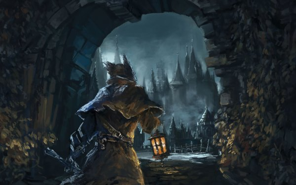 Videojuego Bloodborne Gótico Fondo de pantalla HD | Fondo de Escritorio