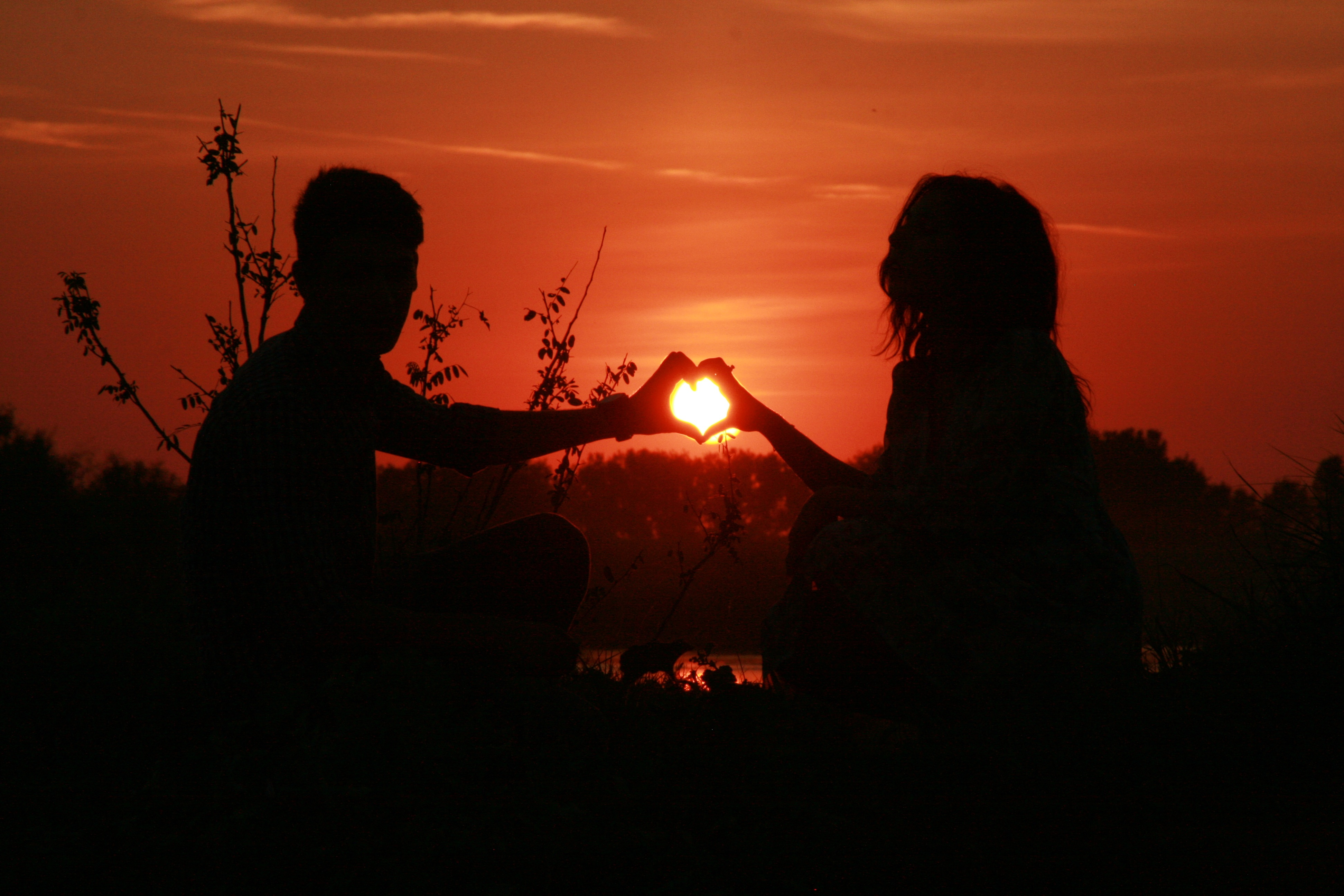 romantic silhouette wallpapers - photo #21