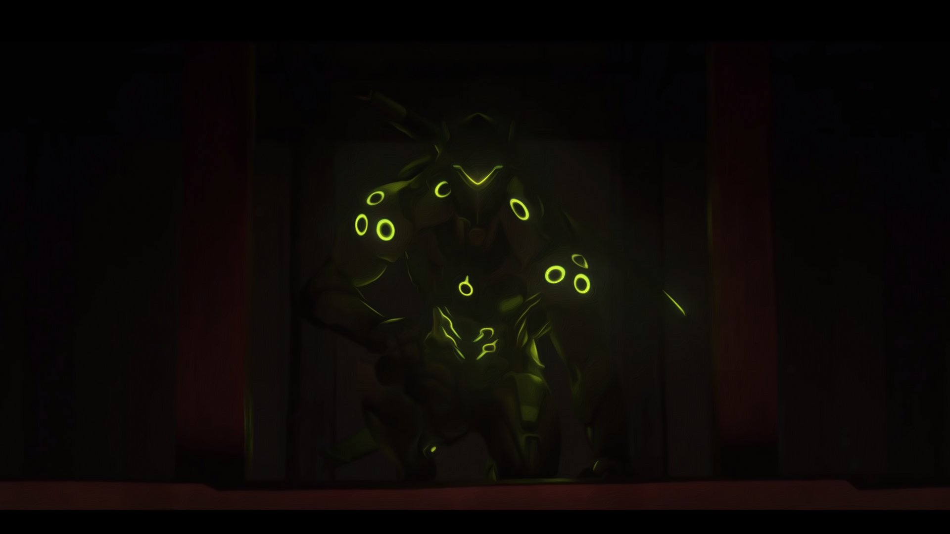 Video Game - Overwatch  Genji (Overwatch) Wallpaper