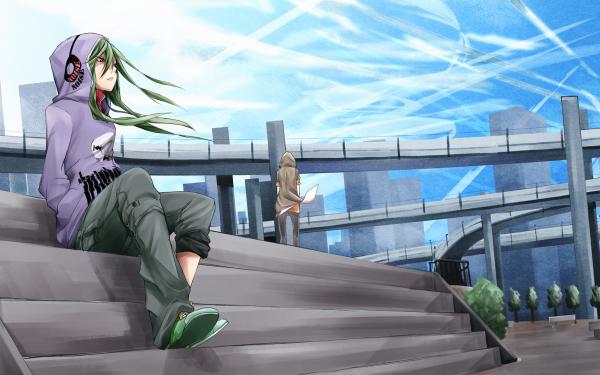 Anime Kagerou Project Shuuya Kano Tsubomi Kido HD Wallpaper   Background Image