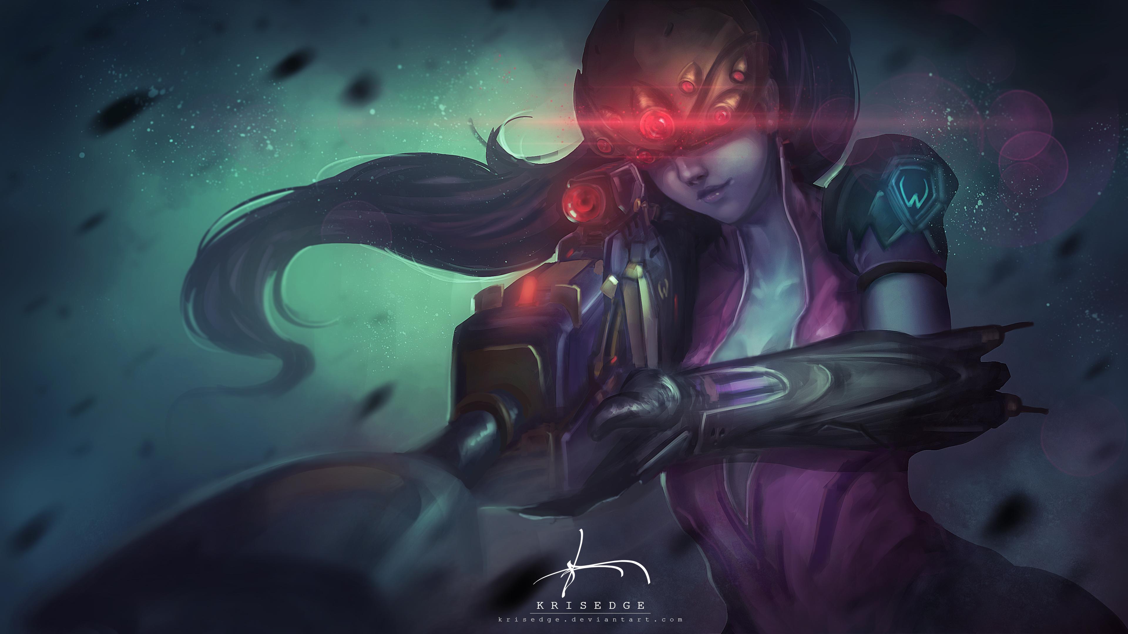 Widowmaker Overwatch 4k Ultra Hd Wallpaper Background Image