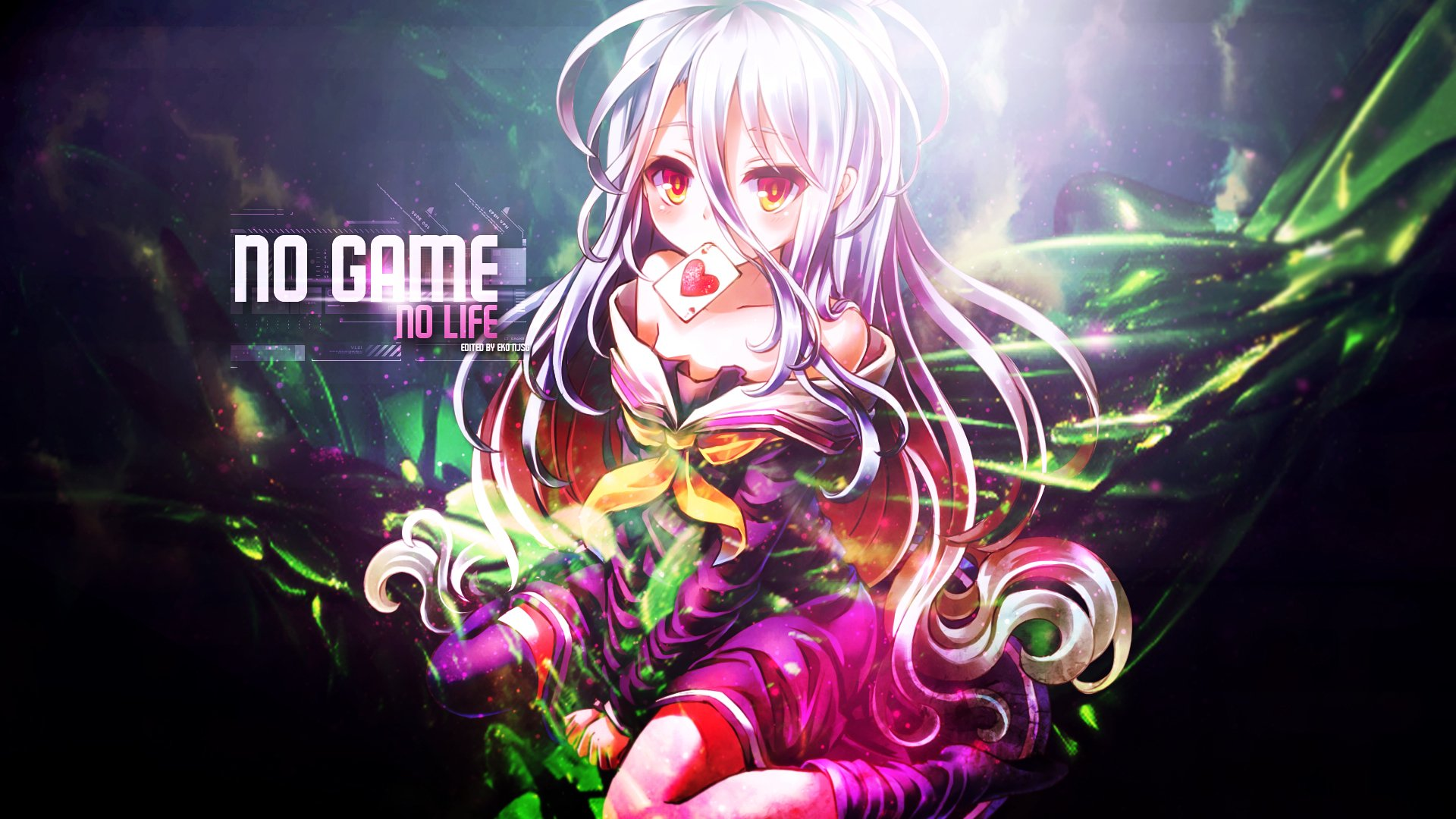 Anime - No Game No Life  Shiro (No Game No Life) Wallpaper