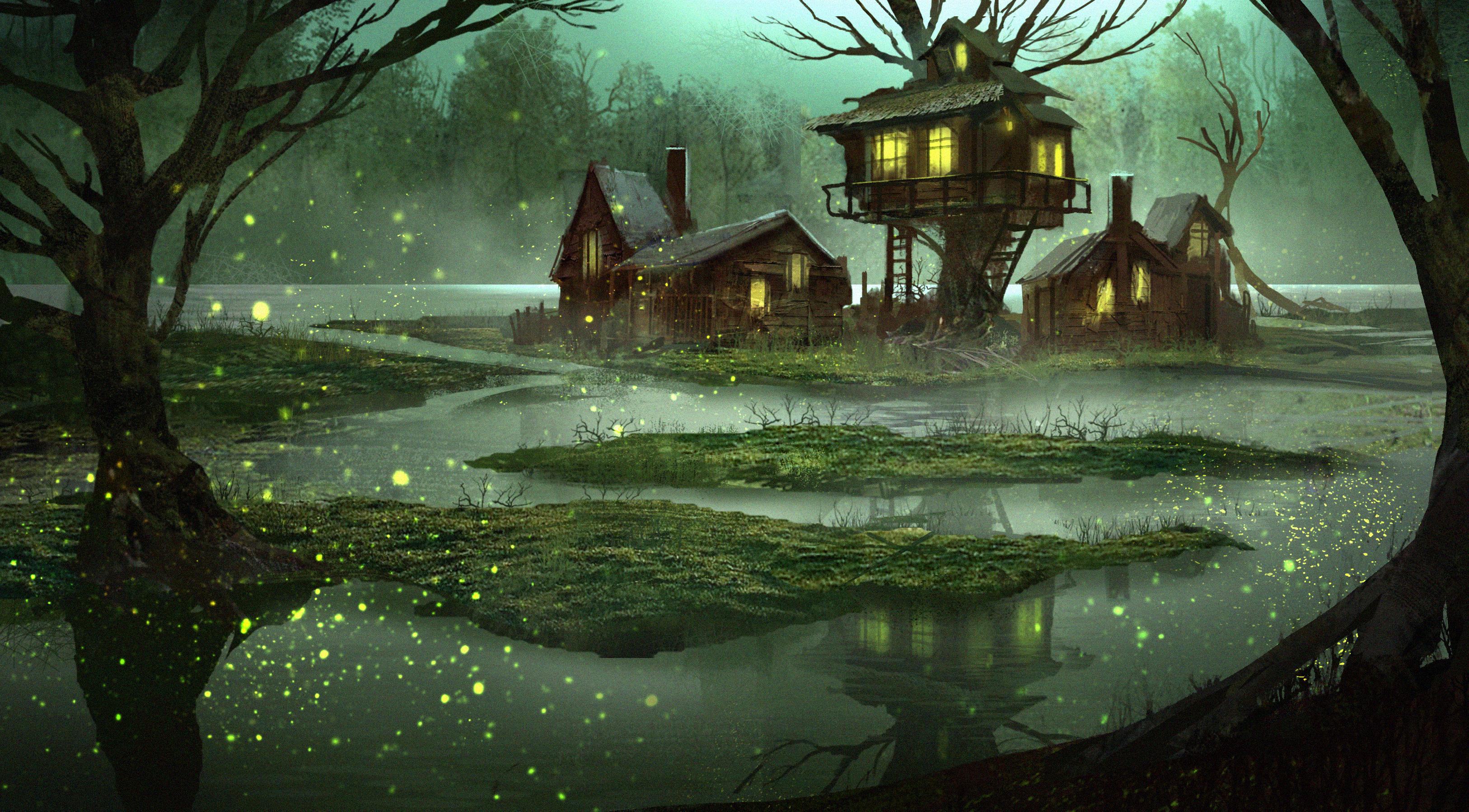 Get Swamp Wallpaper  Background