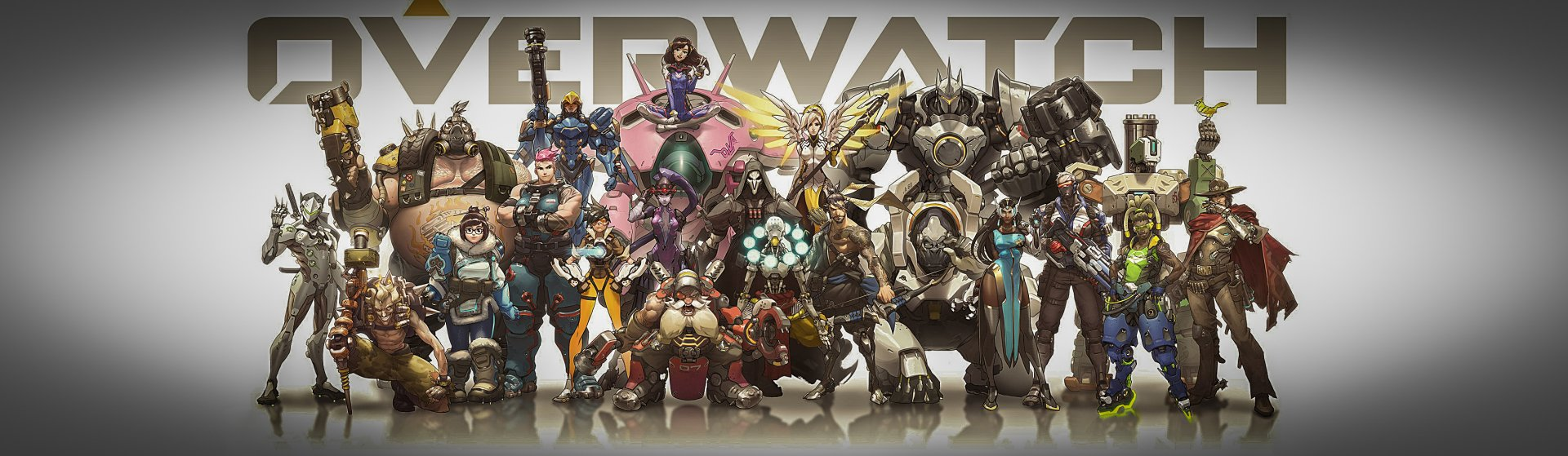 Video Game - Overwatch  Tracer (Overwatch) Widowmaker (Overwatch) Winston (Overwatch) Zarya (Overwatch) Zenyatta (Overwatch) Torbjörn (Overwatch) Symmetra (Overwatch) Roadhog (Overwatch) Reinhardt (Overwatch) Reaper (Overwatch) D.Va (Overwatch) Junkrat (Overwatch) Mei (Overwatch) Mercy (Overwatch) Soldier: 76 (Overwatch) Pharah (Overwatch) McCree (Overwatch) Lúcio (Overwatch) Hanzo (Overwatch) Genji (Overwatch) Bastion (Overwatch) Wallpaper