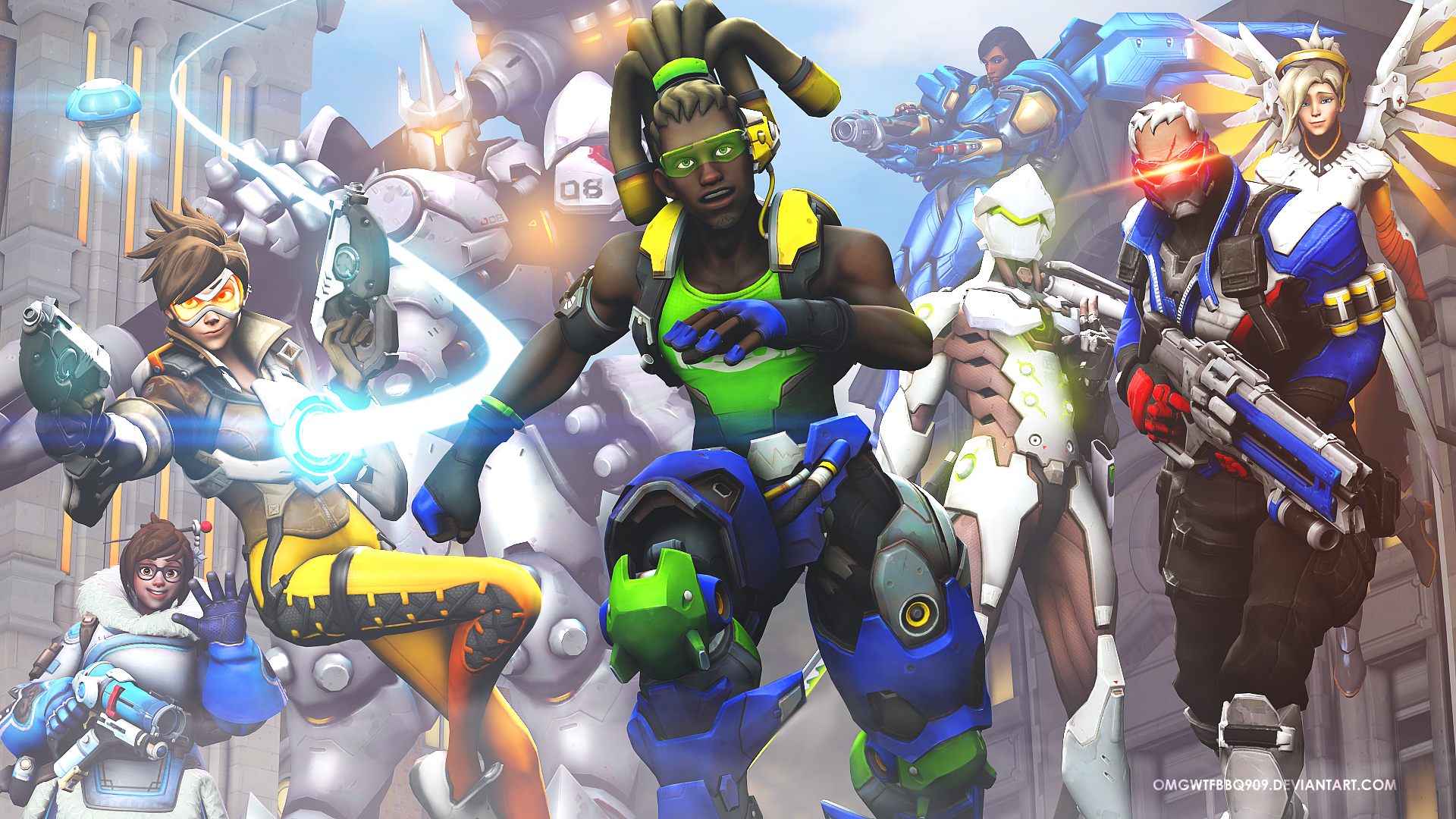 Overwatch Hd Wallpaper Hintergrund 1920x1080 Id 703913