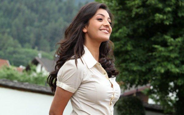 Kändis Kajal Aggarwal Skådespelerskor Indien HD Wallpaper | Background Image