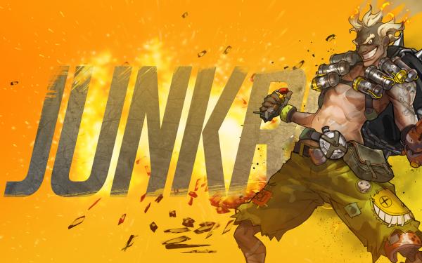 Videojuego Overwatch Junkrat Fondo de pantalla HD | Fondo de Escritorio