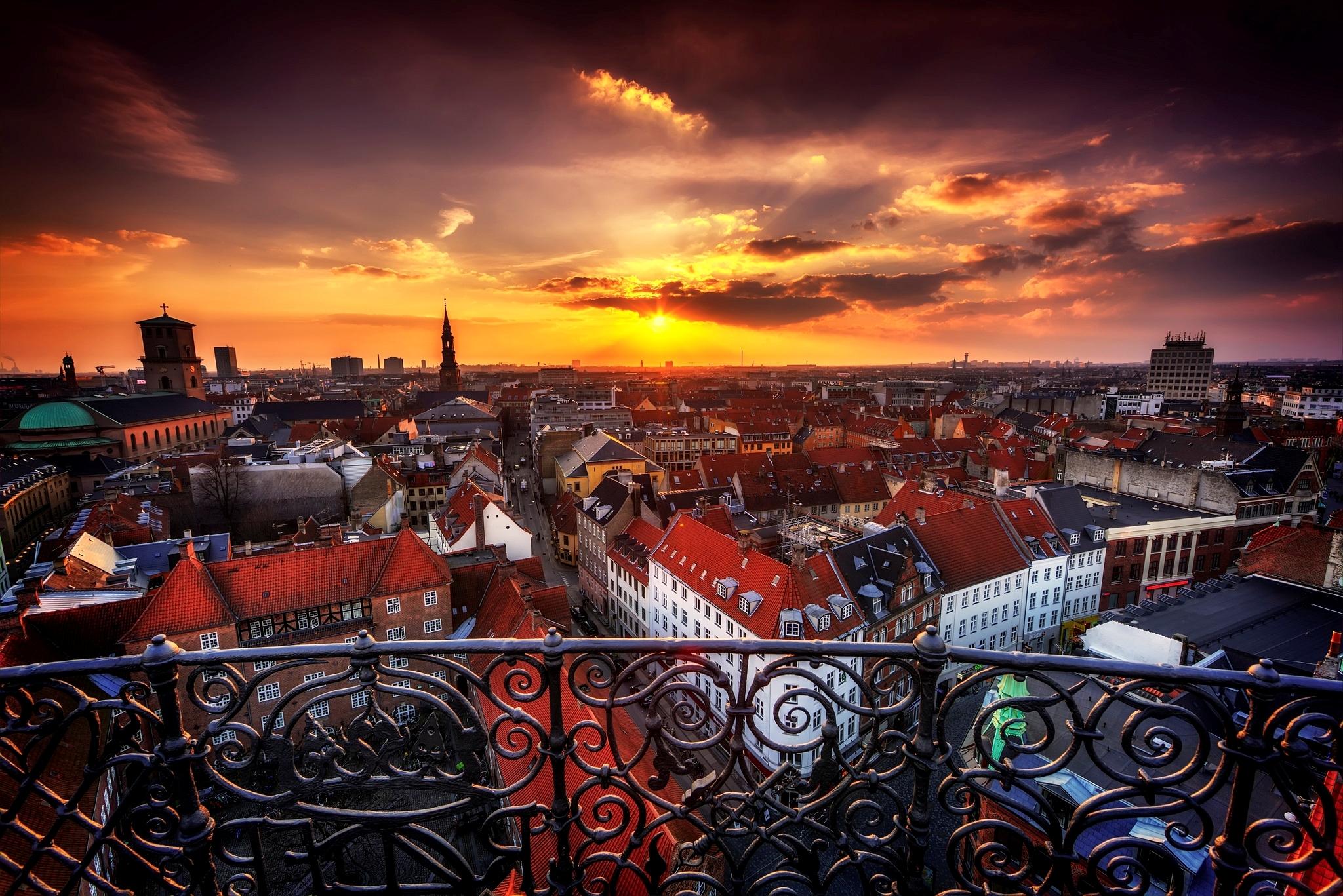 View Of Copenhagen Denmark HD Wallpaper