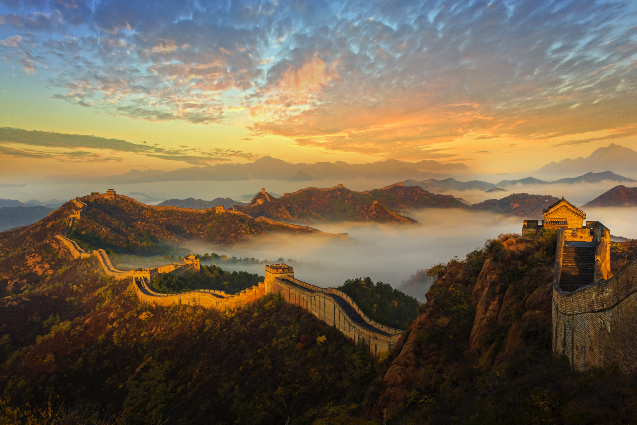 Great wall of china full hd wallpaper and background Wallpapers for the wall
