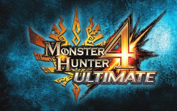 Video Game Monster Hunter 4 Ultimate Monster Hunter Logo HD Wallpaper   Background Image