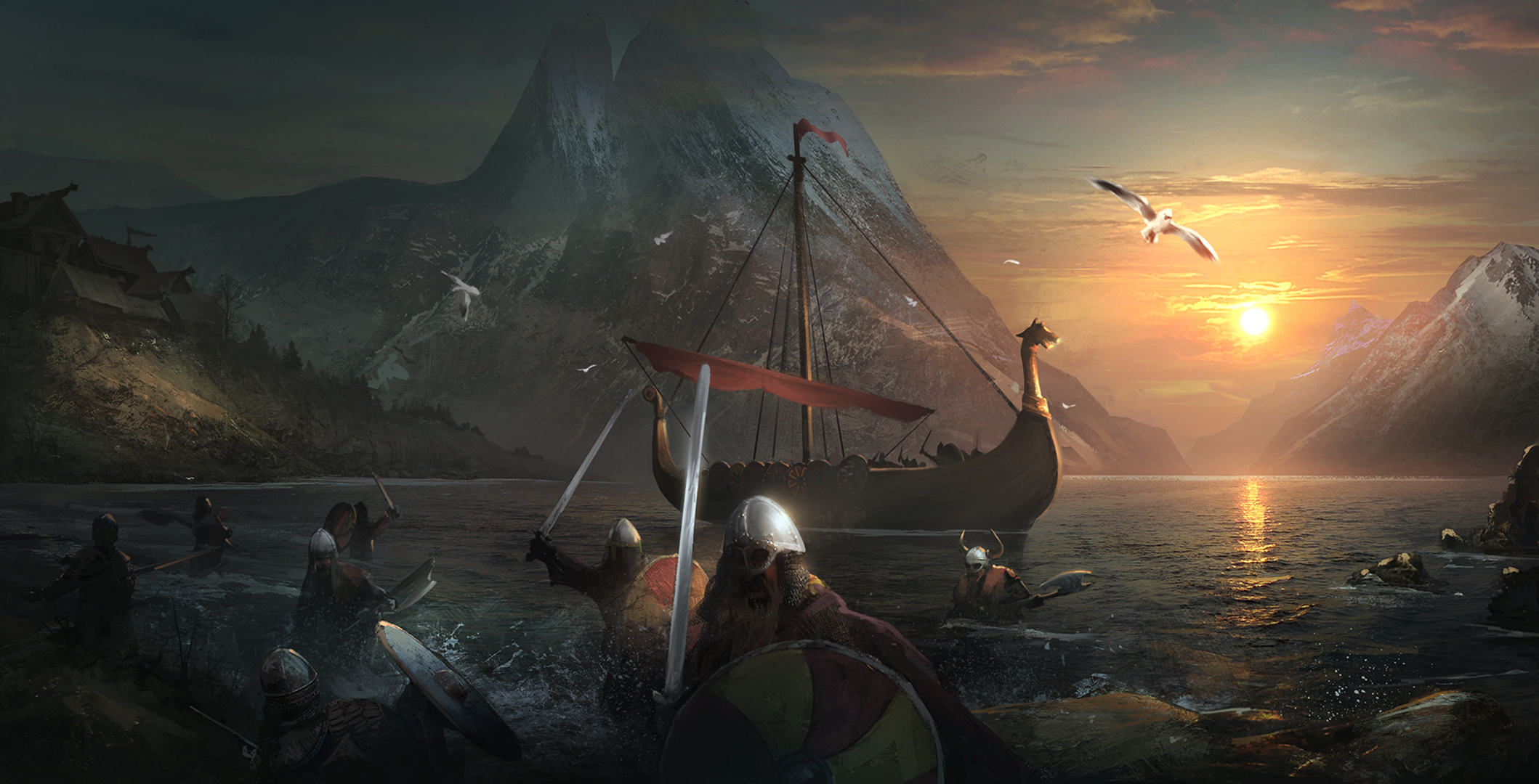 Viking Full HD Wallpaper and Background Image | 2118x1080 ...