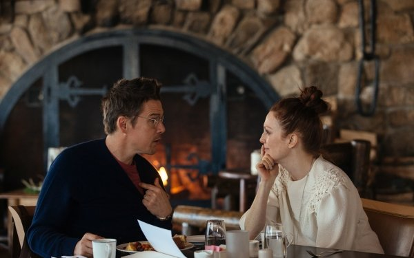 Movie Maggie's Plan Ethan Hawke Julianne Moore HD Wallpaper | Background Image