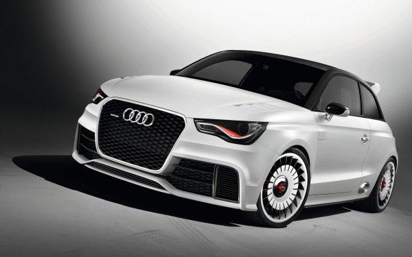 Vehicles Audi A1 Audi White Car Compact Car Car HD Wallpaper | Background Image