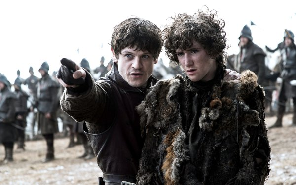 TV Show Game Of Thrones Iwan Rheon Ramsay Bolton Art Parkinson Rickon Stark HD Wallpaper | Background Image