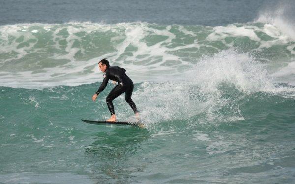 Sports Surfing Surfer Ocean Wave HD Wallpaper | Background Image