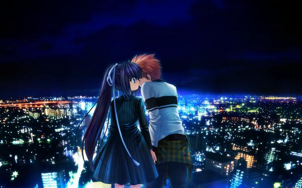 Anime Rewrite Lucia Konohana Kotarou Tennouji HD Wallpaper | Background Image