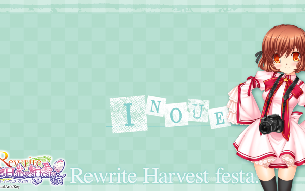Anime Rewrite Inoue HD Wallpaper | Background Image