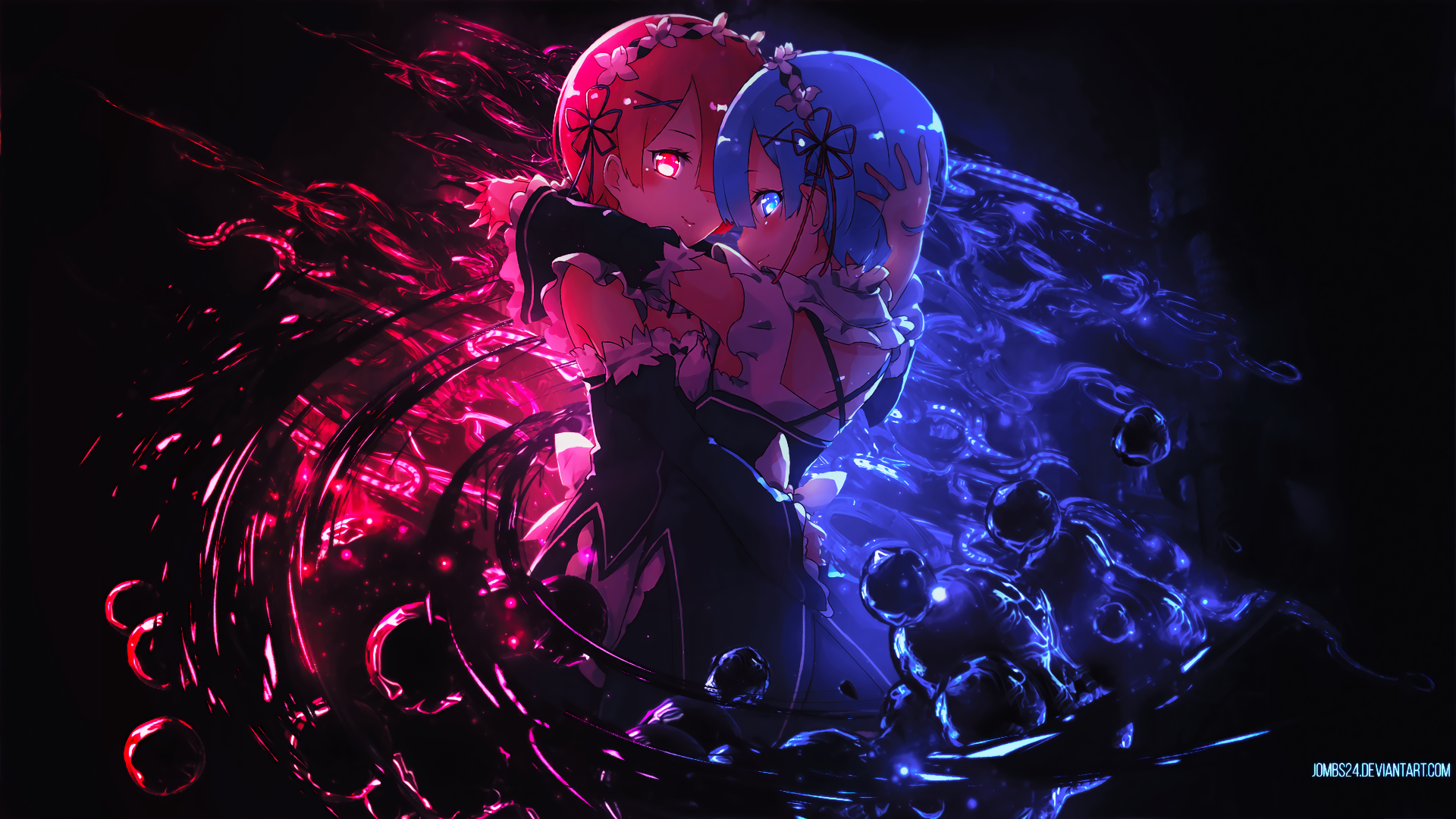 re zero starting life in another world full hd wallpaper