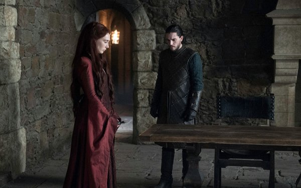 TV Show Game Of Thrones Jon Snow Kit Harington Carice van Houten Melisandre HD Wallpaper | Background Image