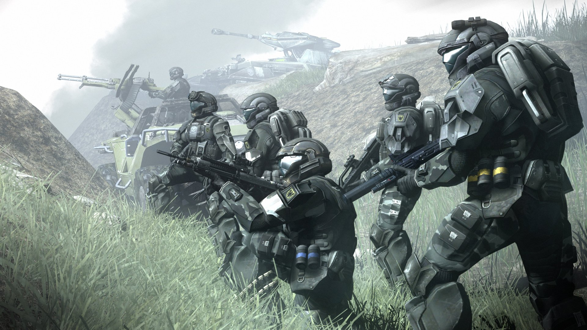 Video Game - Halo 3: ODST  Halo Soldier Wallpaper