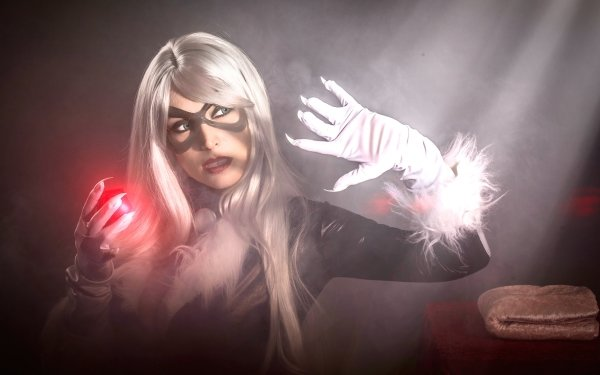 Femmes Cosplay Black Cat Felicia Hardy Marvel Comics Fond d'écran HD | Image