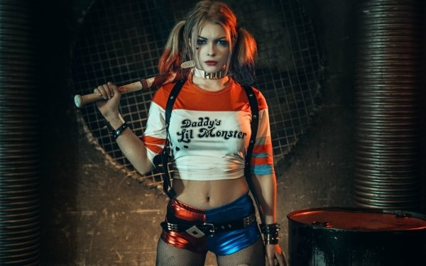 Women Cosplay DC Comics Harley Quinn Suicide Squad HD Wallpaper | Background Image