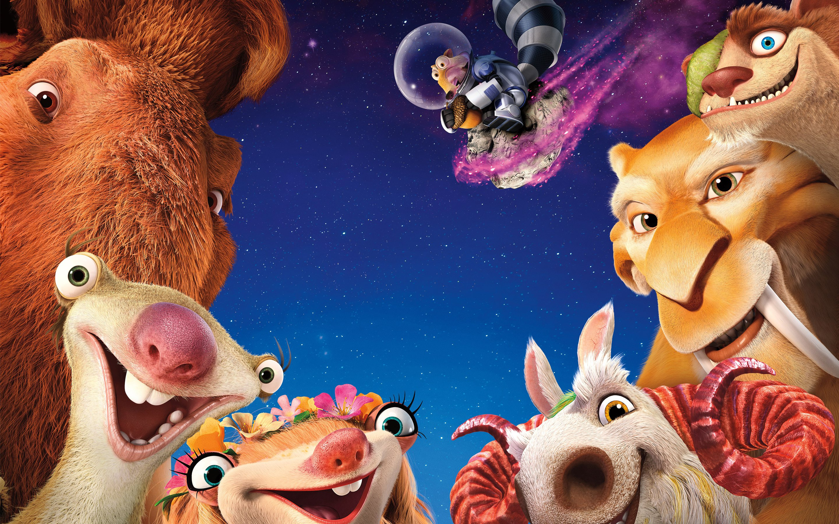 Ice Age Collision Course Hd Wallpaper Background Image
