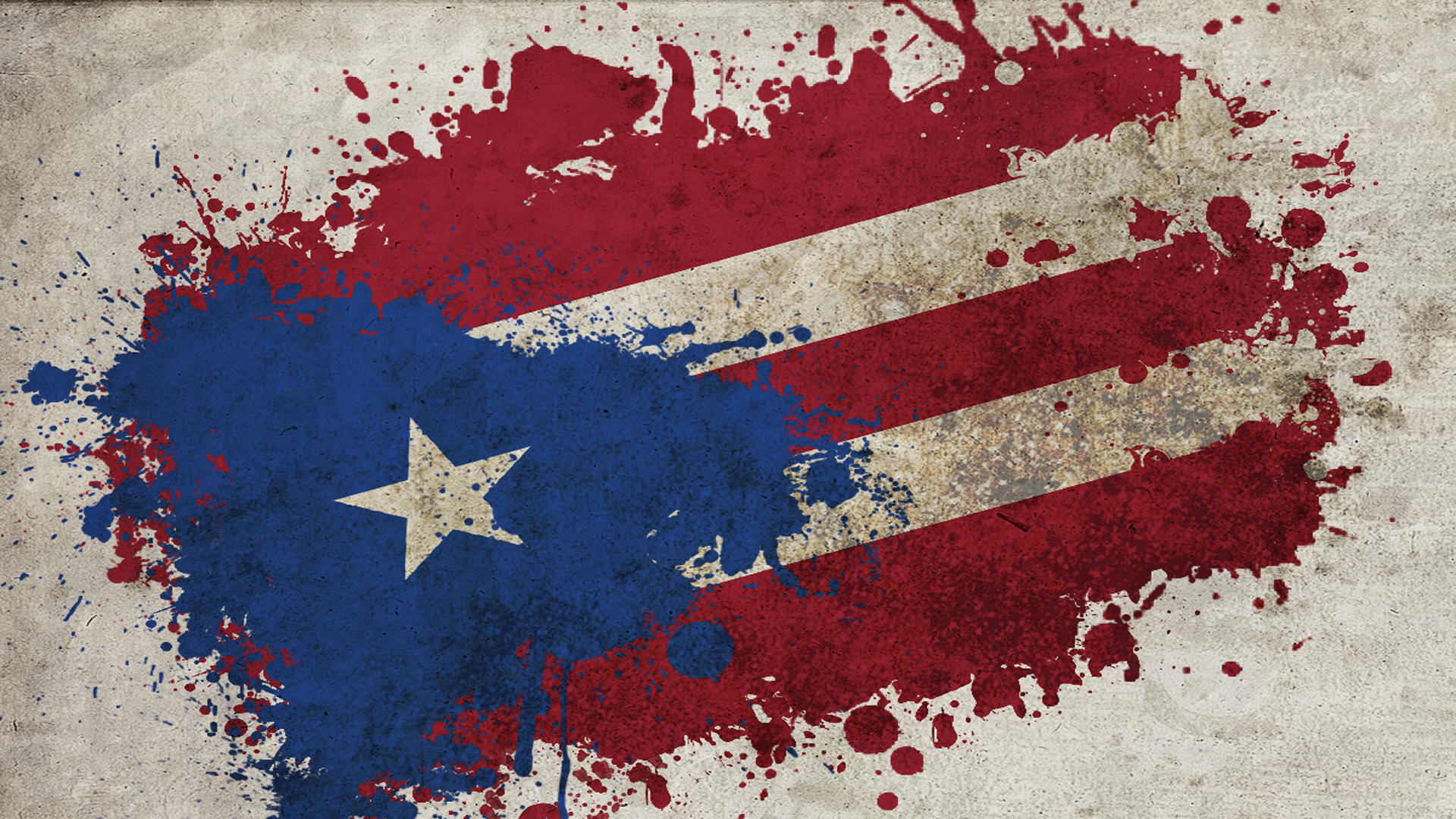 Flag Of Puerto Rico Full HD Wallpaper And Background Image