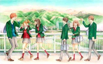 Hd Wallpaper Background Image Id X Anime Orange