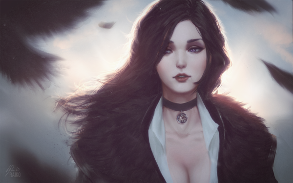 Video Game The Witcher 3: Wild Hunt The Witcher Yennefer of Vengerberg HD Wallpaper | Background Image