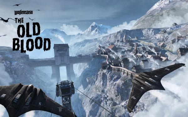 Video Game Wolfenstein: The Old Blood Aircraft HD Wallpaper | Background Image