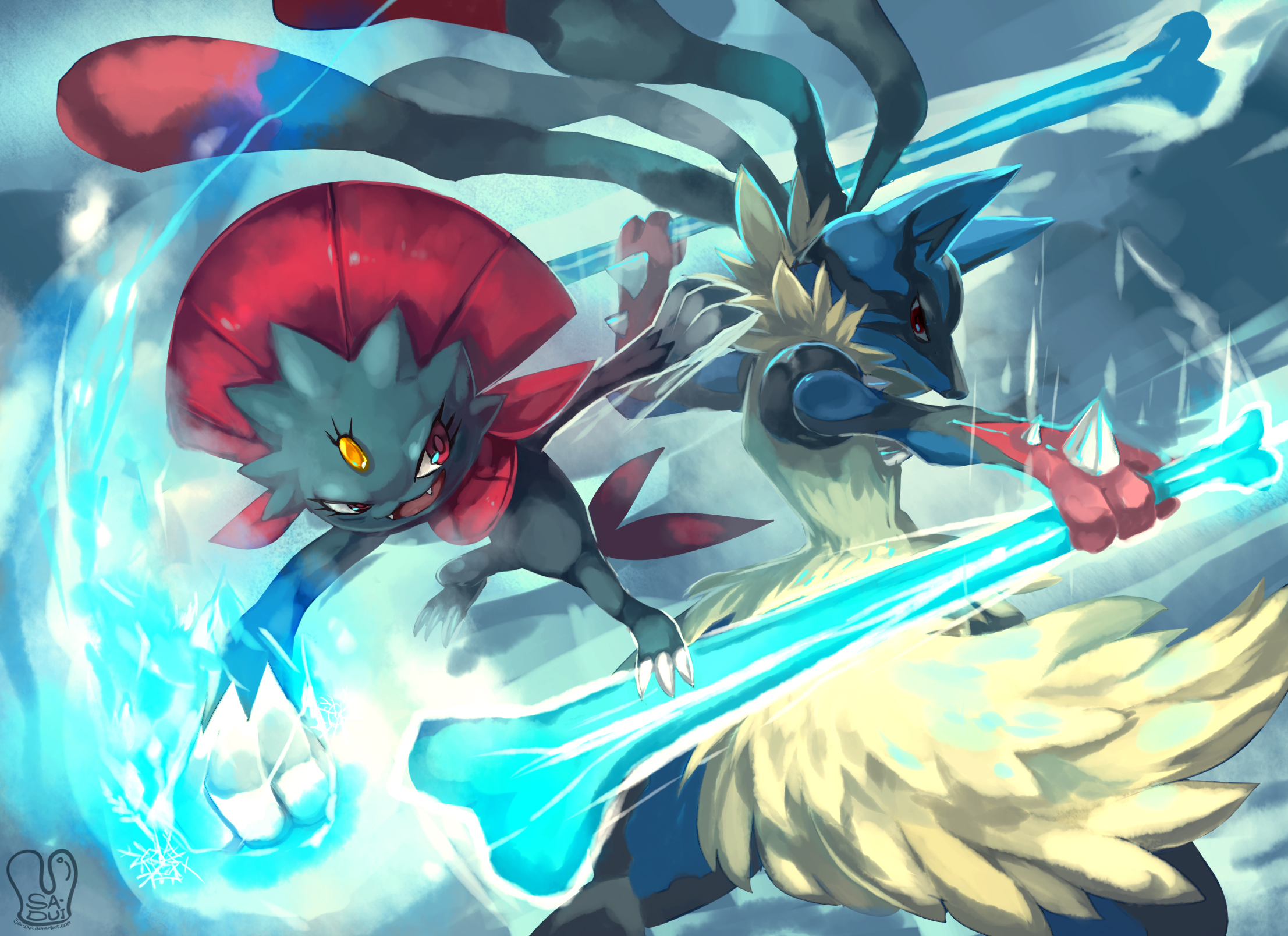 Download Mega Lucario wallpapers to your cell phone - games ...