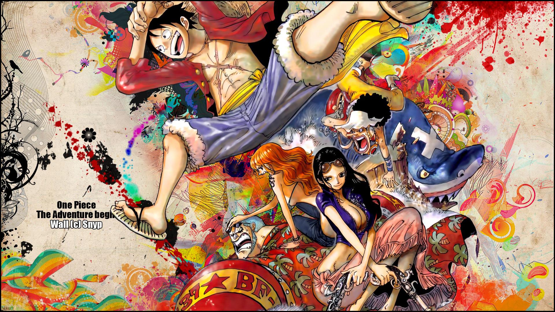 One Piece Fond d'écran HD | Arrière-Plan | 1920x1080 | ID:717356 - Wallpaper Abyss