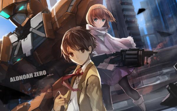 Anime Aldnoah.Zero Inaho Kaizuka Asseylum Vers Allusia HD Wallpaper | Background Image