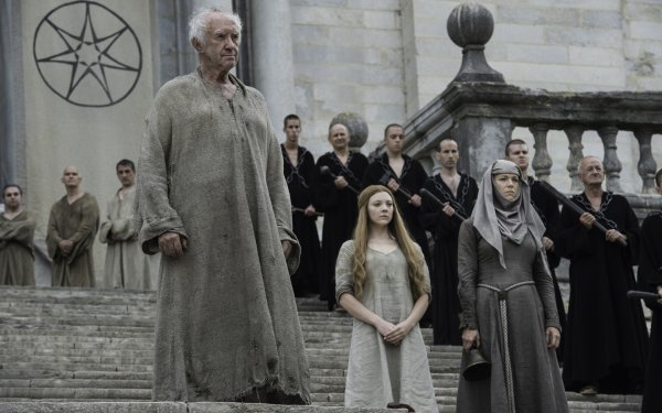 TV Show Game Of Thrones Jonathan Pryce Natalie Dormer Margaery Tyrell High Sparrow HD Wallpaper | Background Image