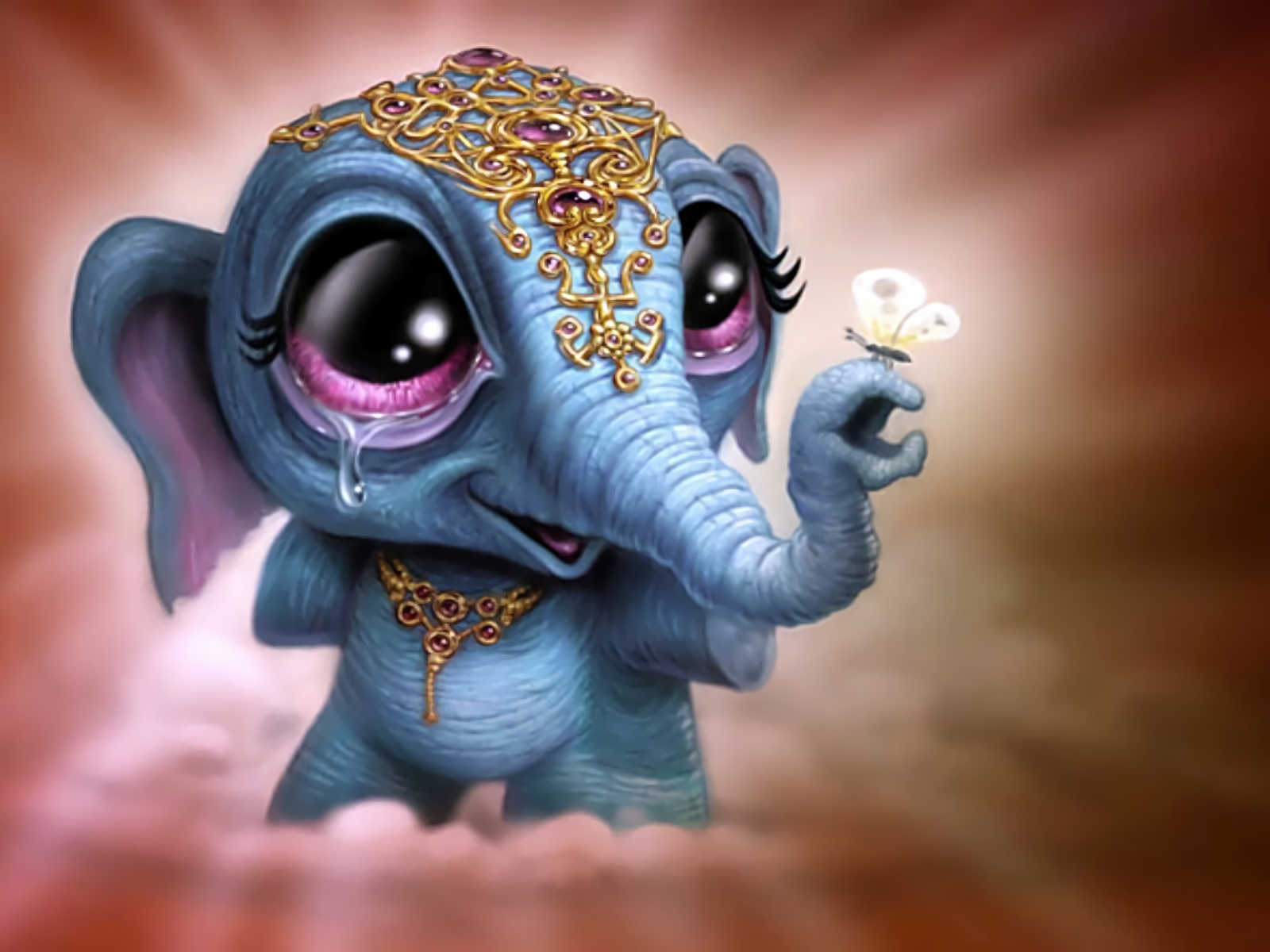 Asian Fantasy Elephant Wallpaper And Background Image