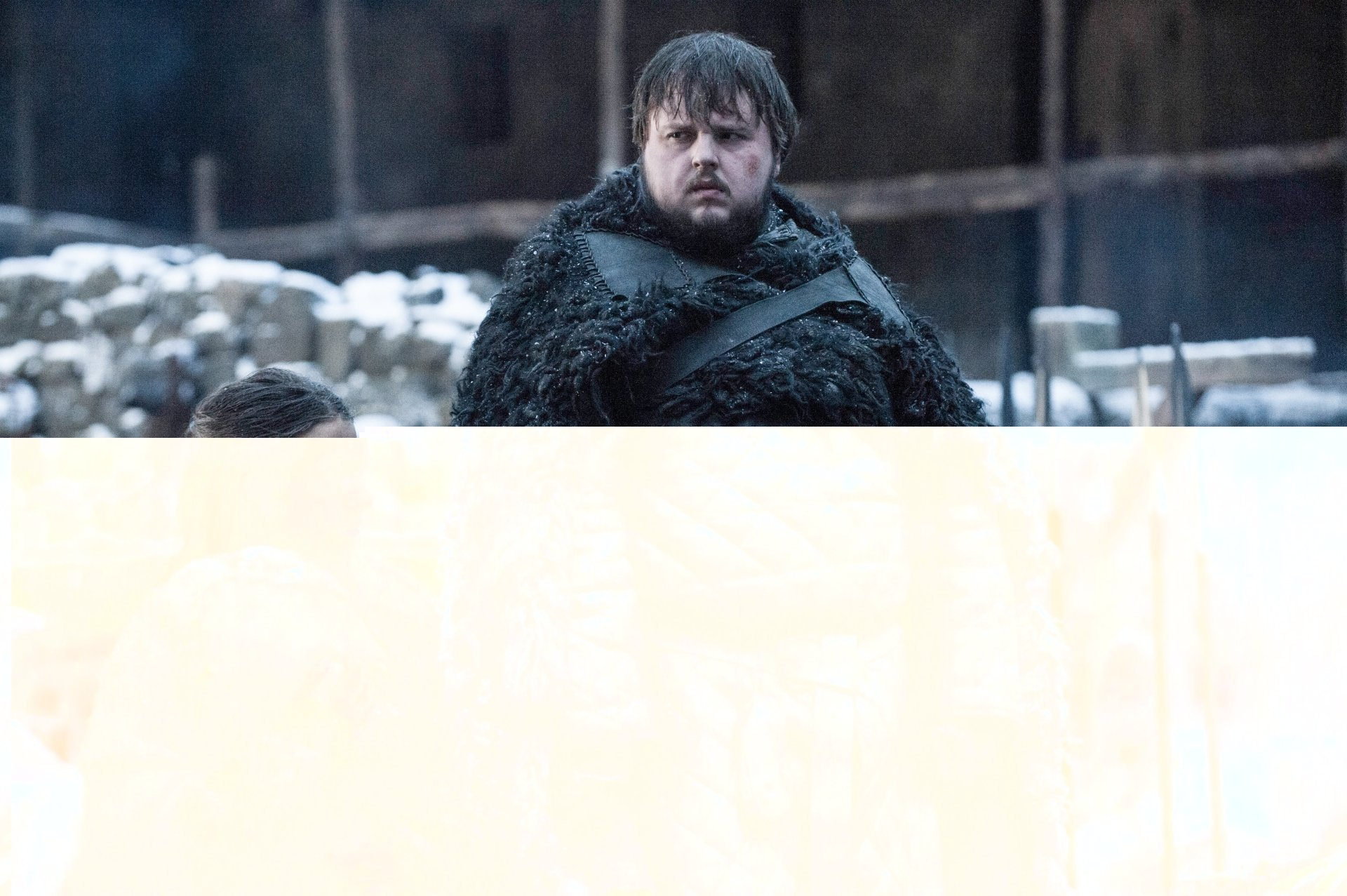 TV Show - Game Of Thrones  Samwell Tarly John Bradley-West Gilly (Game Of Thrones) Hannah Murray Wallpaper