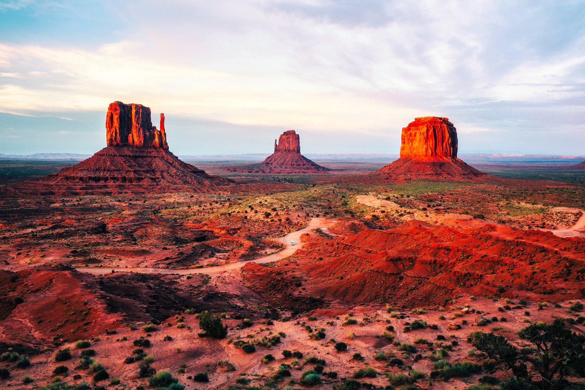 Monument Valley 4k Ultra HD Wallpaper