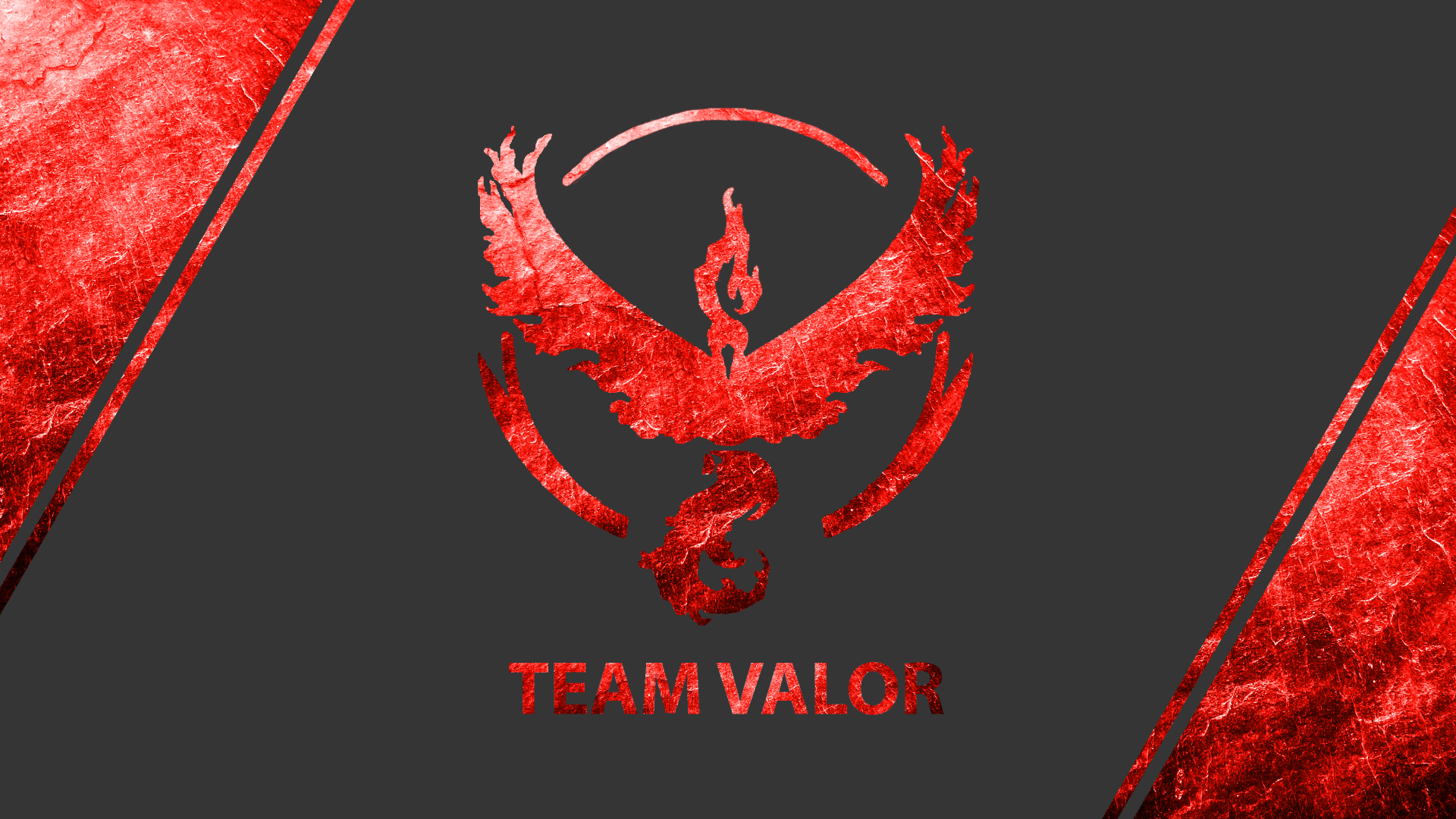 Video Game - Pokémon GO  Pokemon Go Pokémon Team Valor Moltres (Pokémon) Wallpaper