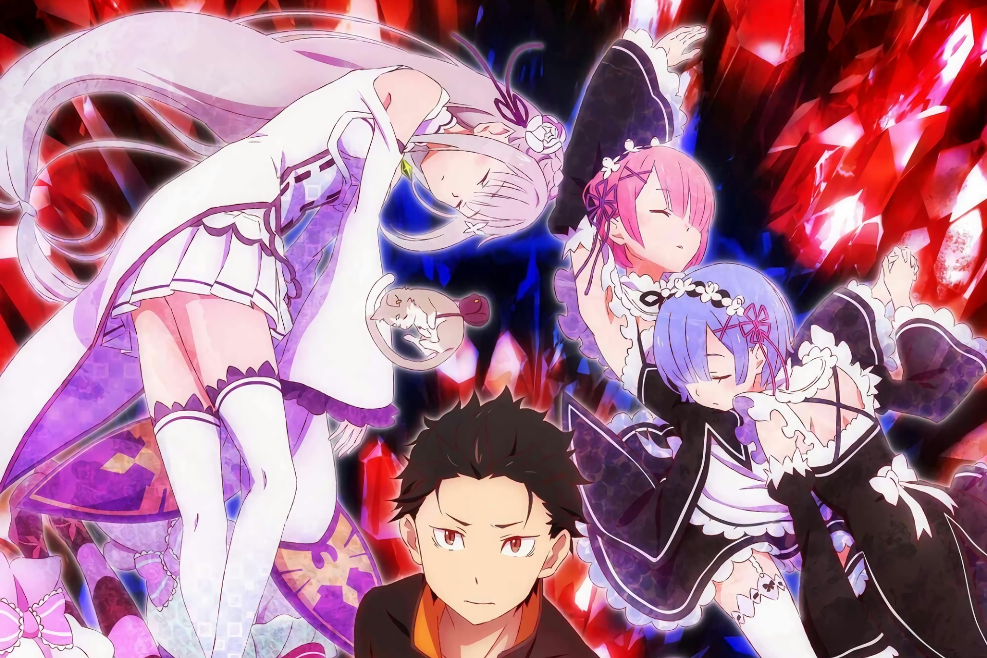 Re Zero Starting Life In Another World Hd Wallpaper Background