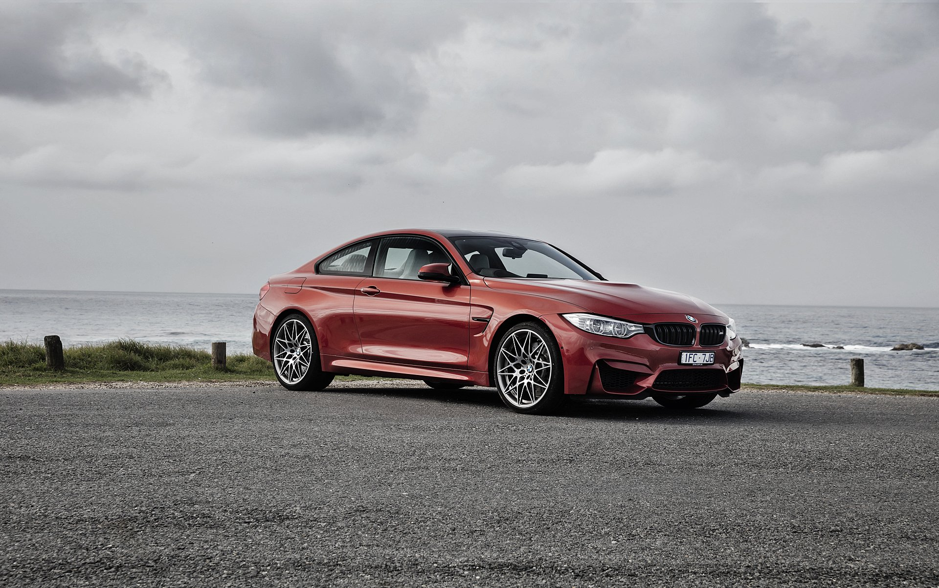 Vehicles - BMW M4  BMW Red Car Grand Tourer Car Vehicle Wallpaper